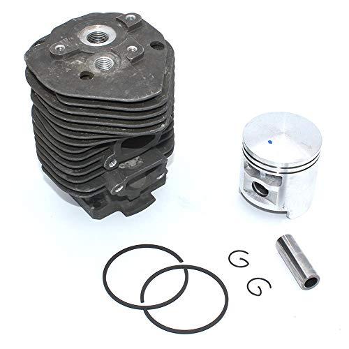 Kit de pistón de cilindro Nakisil 52mm para cortador de disco Stihl TS510 TS50 Stihl 051050 piezas de motosierra # 1111 020 1200