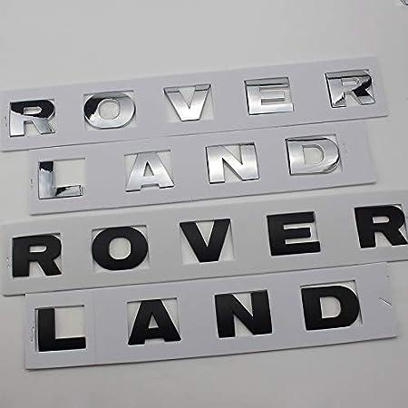 Dellemblema del Distintivo Inglese Marchio dellautomobile /è Adatto a Copertura Capo Land Rover Range Rover Discovery Aurora Etichetta Autoadesivo,Color1