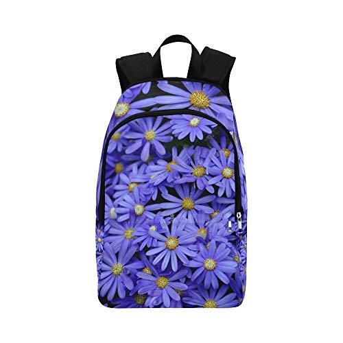 NaNa Colleges Bags Purple Spring Sweet Fragrant Flower Durable Water Resistant Classic Best Bookbag Casual Bags for Women Mens Travel Toiletry Bag Daypacks Backpacks