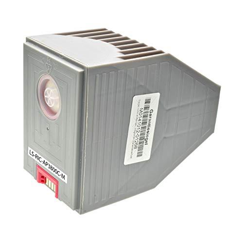LS Toner für Ricoh Aficio AP3800 C 888036 Magenta, 10000 Seiten, kompatibel zu Type 105Y