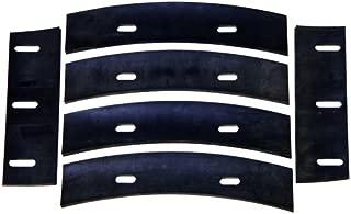 Stone 22112 Mortar Mixer Rubber Blades for 4 Cubic Feet Mixer