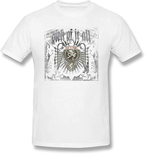 Sick of It All 'Eagle' (White) T-Shirt,White 06,5X-Large
