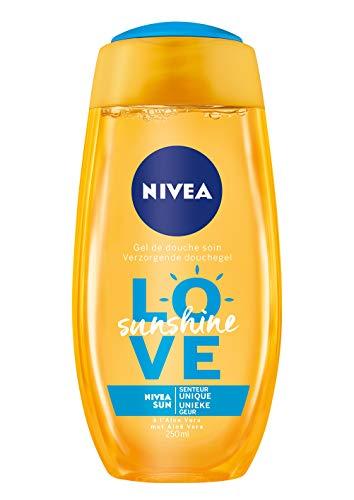NIVEA Love Sunshine Duschgel, 250 ml, 4 Stück