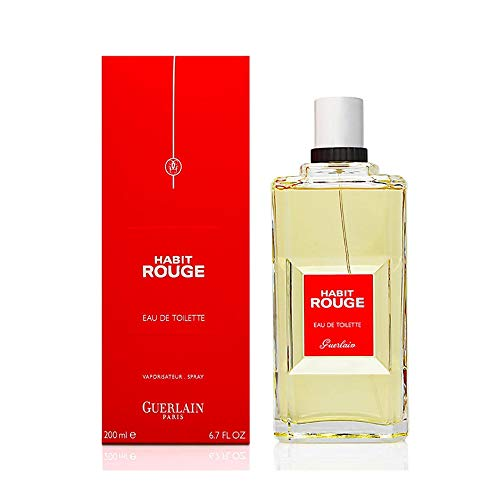 Guerlain Habit Rouge Eau de Toilette Spray 200 ml