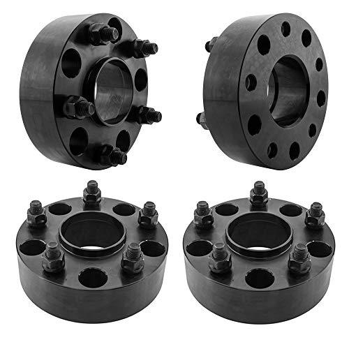 "TRIBLE SIX Wheel Spacers fit for 02-10 Ram 1500 (Set of 4) 2"" 5x5.5 (5x139.7mm) 9/16-18 Hub Bore 77.8mm 5 Lug 50mm Hub Centric Wheel Adapters fit for 04-09 Dodge Durango 2005-2010 Dakota Ram 1500"