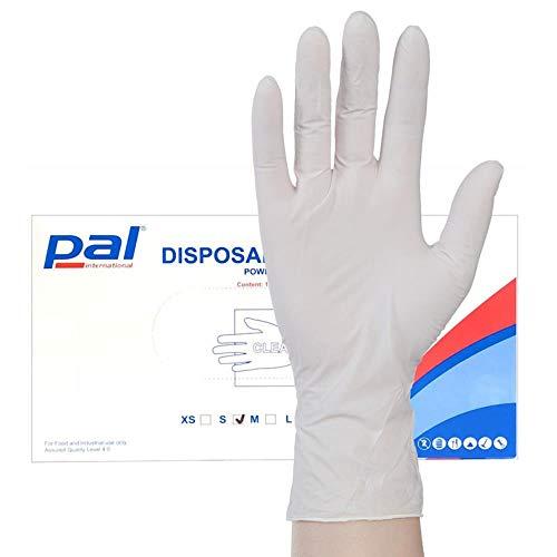 5 10 20 pares de guantes de goma de látex Escudo del Hogar Cocina Baño Lavado Up