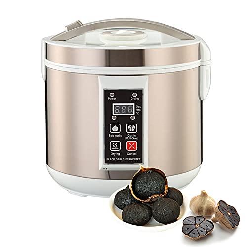 LLC-POWER Black Garlic fermentater, 6L Black Garlic fermenter, Full Automatic Garlics Maker, Intelligent Fermentation Machine, Home/Kitchen Utensil