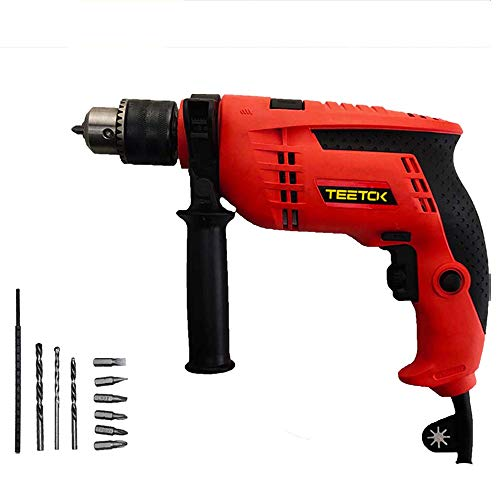 Corded Power Impact Drill 650W   Rotary Hammer Drill   Variable Speed Electric Hammer Drill