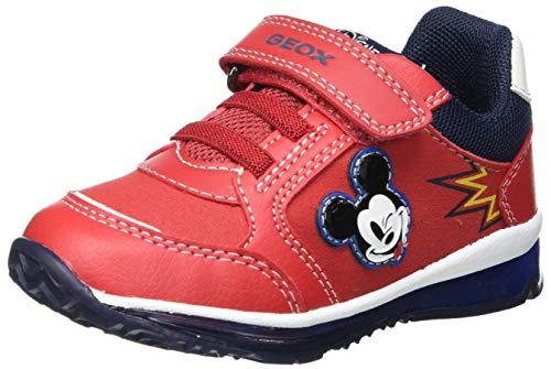 Geox B TODO Boy B Sneaker, Red, 25 EU