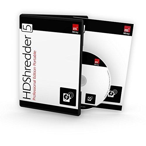 HDShredder 5 Professional Edition Portable (Box, deutsch) - Sichere Datenlöschung für Festplatten und andere Speichermedien
