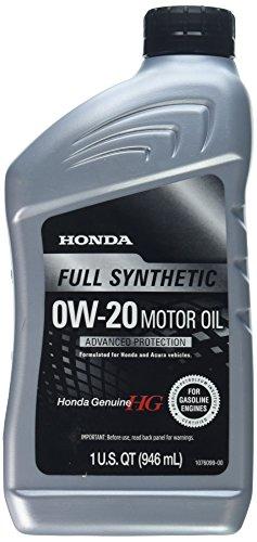 Honda 08798-9063 Blended Full Synthetic Motor Oil, 1 Quart Bottle, 32 Oz