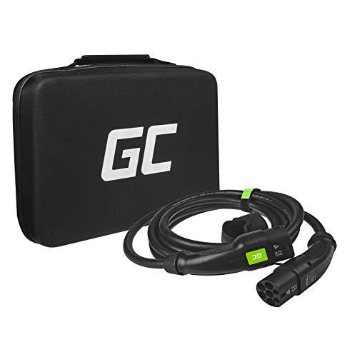 Green Cell® GC Cables de carga - Tipo 2 a Tipo 2 -16A - Trifásico - 11kW - 5 metros