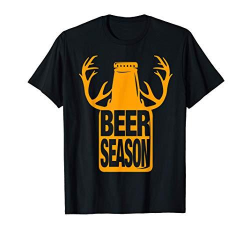 Biersaison Bier Bierliebhaber Biertrinker Bierfaß Geschenk T-Shirt