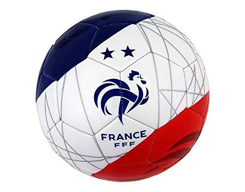 Ballon de Football FFF - 2 Etoiles - Collection Officielle Equipe de France - Taille 5