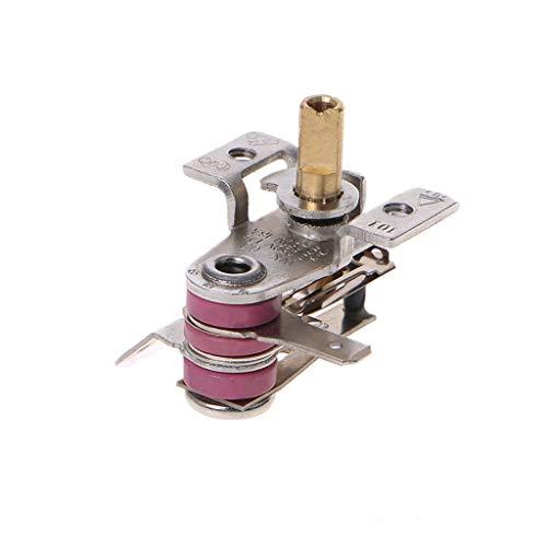 Meiqqm AC 250 V 16A Einstellbare 90 Celsius Temperaturschalter Bimetallheizung Thermostat KDT-200 Hohe Qualität
