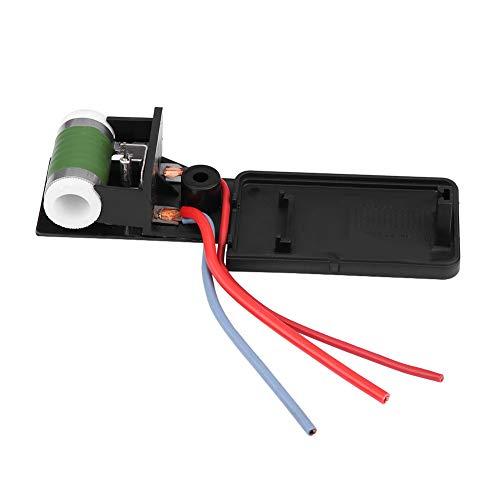 OKBY Motor del Ventilador - Resistor del Motor del Ventilador del radiador de enfriamiento del Motor del automóvil 17117541092R para Mini Cooper R50 R52 R53 03-08, Resistencia del Ventilador