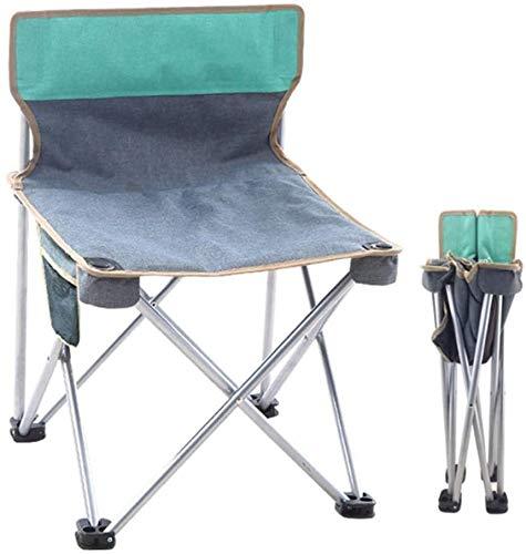 Sillas de Playa Silla Plegable Silla de Camping portátil de Tela Oxford Material Triangular Fuerza diseño de Seguridad Duradero y Transpirable cómodo for Acampar al Aire Libre de Viaje Beach