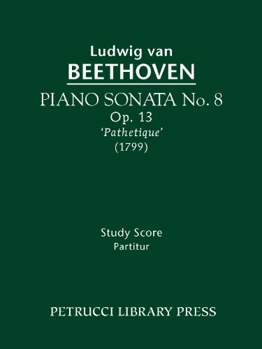 Piano Sonata No. 8, Op. 13 'Pathétique' (Beethovens Werke, Serie XVI) (English Edition)