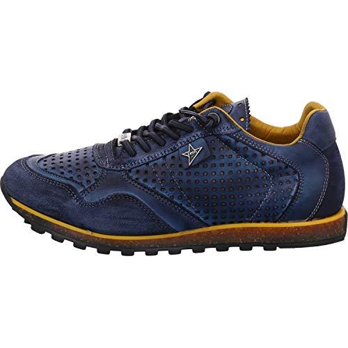 Cetti Herren Sneaker C848 Natur TIN Navy blau 713449