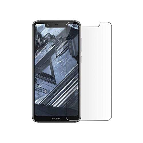 Compatibile con Nokia 3.1 Plus Vetro Temperato Cellulare Proteggi Schermo