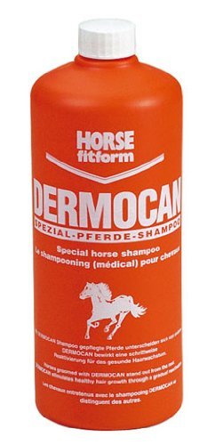 HORSE fitform Dermocan paardenshampoo, speciale shampoo voor paarden, shampoo 500 ml