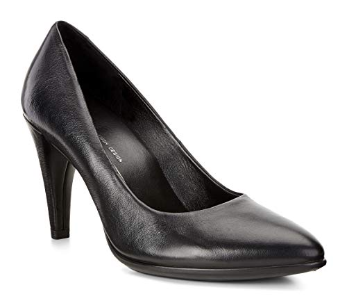 ECCO Damen SHAPE75POINTY Pumps, Schwarz (11001black), 40 EU