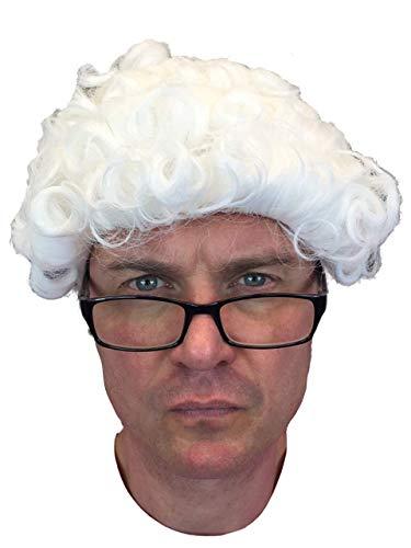 Rubber Johnnies TM Juge Perruque Avocat Downton Abbey Déguisement