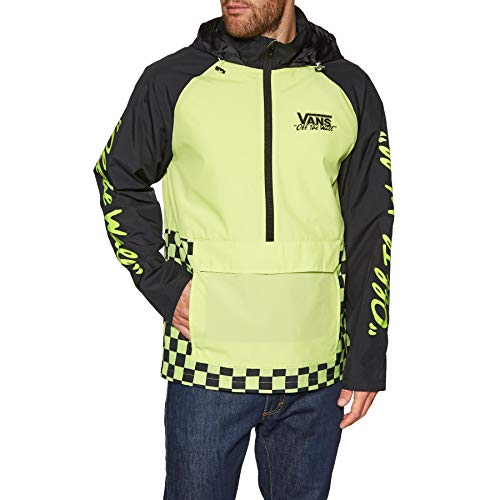 Vans Herren BMX off The Wall Anorak, Nylon, Jacken, Grün XL grün