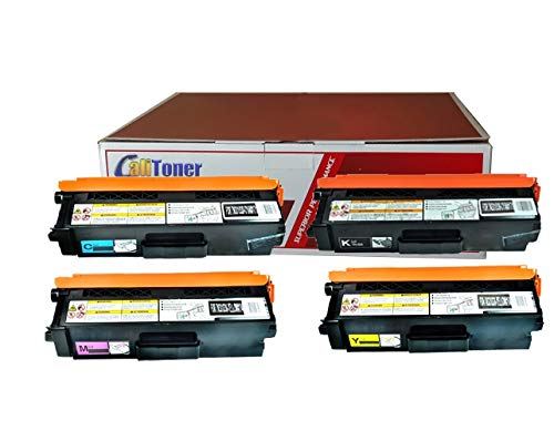 Calitoner Compatible Laser Toner Cartridges Replacement Brother TN336BK TN336C TN336M TN336Y Set Use for Brother MFC-L8600CDW, MFC-L8850CDW, HL-L8250CDN, HL-L8350CDW, HL-L8350CDWT Printer- (4 Pack)
