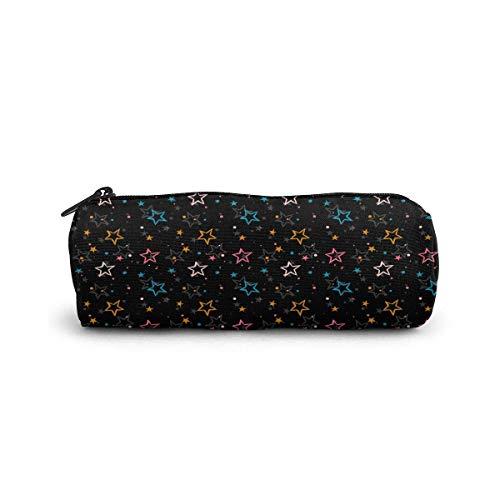 Patriots noir coloré étoiles cosmétique sac petit voyage stockage maquillage sacs sac à main