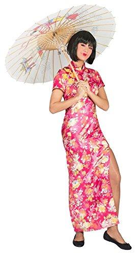 Chinesin Ling Kostüm für Damen Gr. 36 38