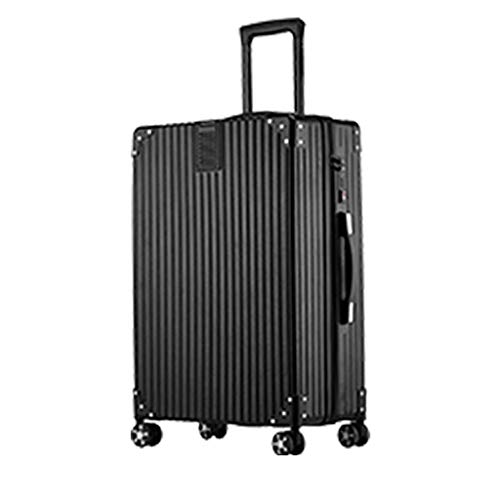 LLKK Trolleys,suitcases,Suitcases,men And Women,small Boarding Case,24 Inch Password Leather Suitcase,trolley Case Trend (1 Item)