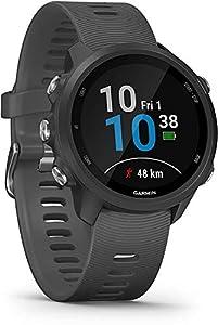 Garmin Forerunner 245 Music, GPS Running Smartwatch Versione Internazionale, Nero