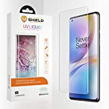 Ultimate Shield Liquid Glass para OnePlus 8 Pro [Pack de 2] [Protector...