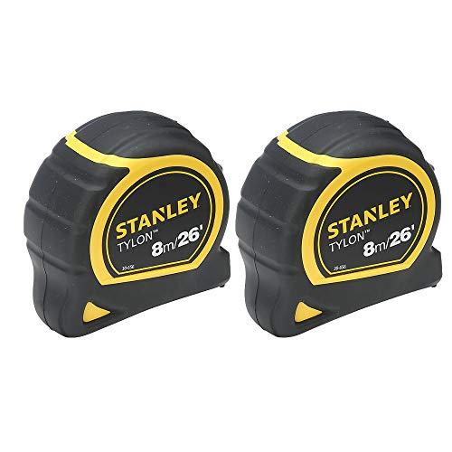 Stanley Tylon 8m Tape Measure Twin Pack