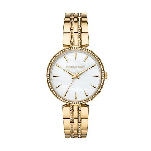 Michael Kors Women's Anabeth Three-Hand Gold-Tone Alloy Watch MK7167