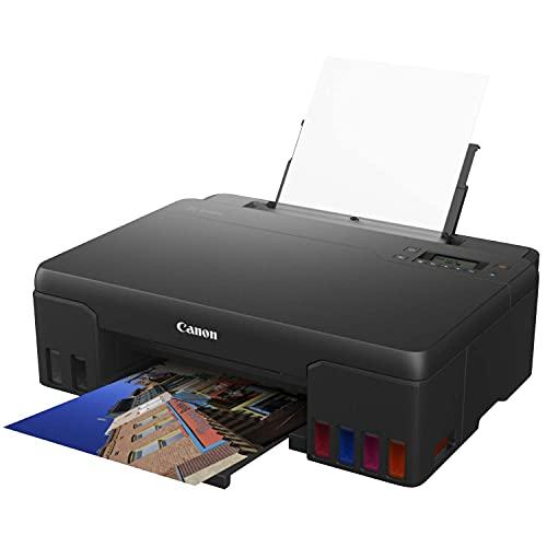 Impresora Fotográfica Canon PIXMA G550 Negra WiFi de inyección de Tinta MegaTank con depósitos de Tinta rellenables