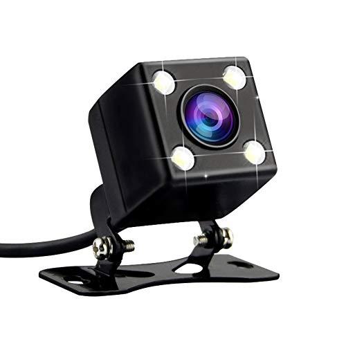 AZDOME wasserdichte Rückfahrkamera mit 4 LEDs für Super Nachtsicht mit 170° Weitwinkelobjektiv,IP67 wasserdichte HD Rückwärtsfahrkamera für Dashcam mit AV-IN Port(WR01)