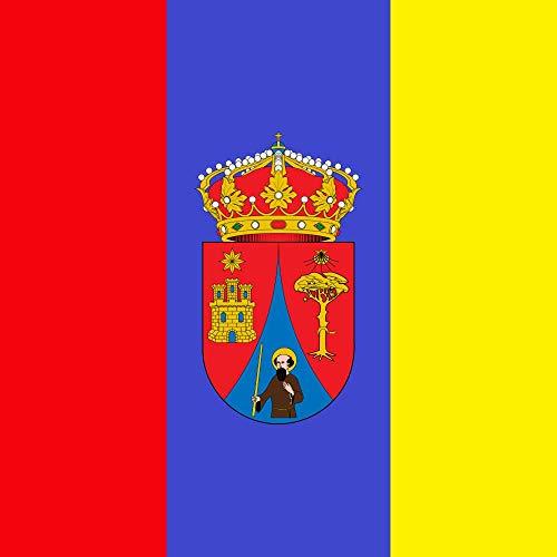 magFlags Drapeau Large Viloria de Rioja Burgos | «Bandera cuadrada | 1.35m² | 120x120cm