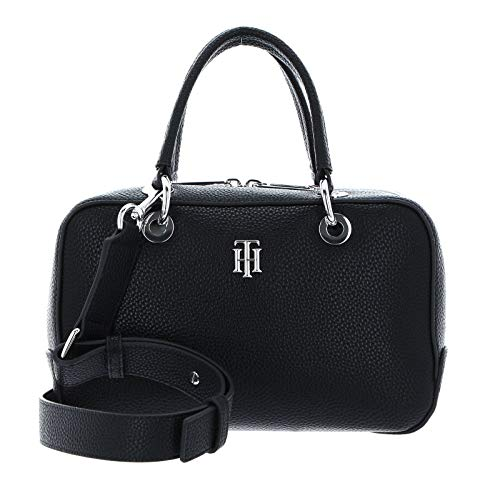 Tommy Hilfiger TH Essence, Bolso para Mujer, Black, One Size