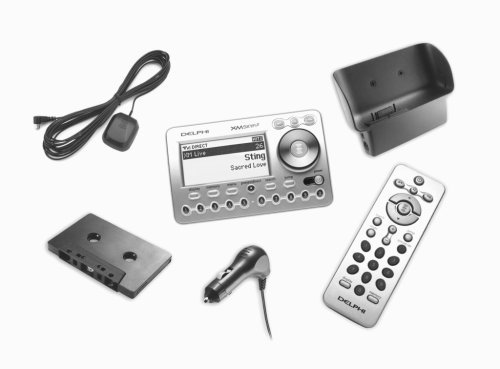Delphi SA10268 SKYFi2 CD Audio System All-In-One Bundle Pack