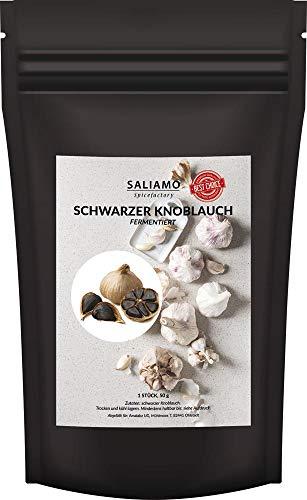 Saliamo | fermentierter schwarzer Knoblauch 1 Stück, 50 g
