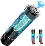 TWTW Macho eléctrico pene Alargamiento de la Bomba, Bomba de vacío Realista Camiseta for el Dispositivo de presión de Aire de los Hombres Penni