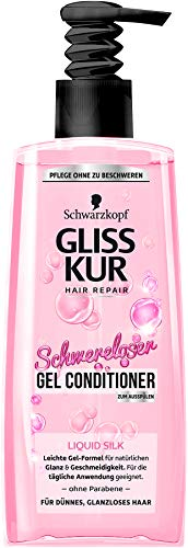 Gliss Kur Gel-Spülung Liquid Silk, 200 ml