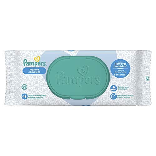Lenços Umedecidos Pampers Higiene Completa 48 Unidades, Pampers