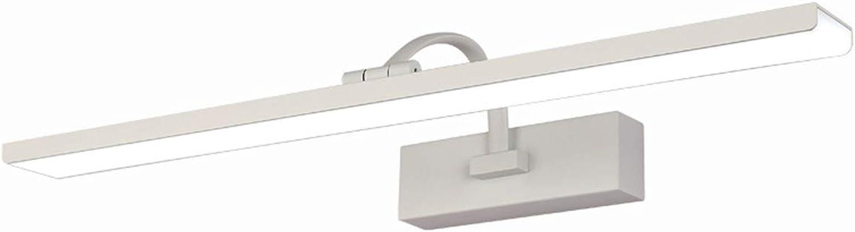 LLZI Spiegelscheinwerfer LED Acryl Badezimmer FeuchtigkeitsBestendig Strip Spiegelschrank Lampe Modern Einfach