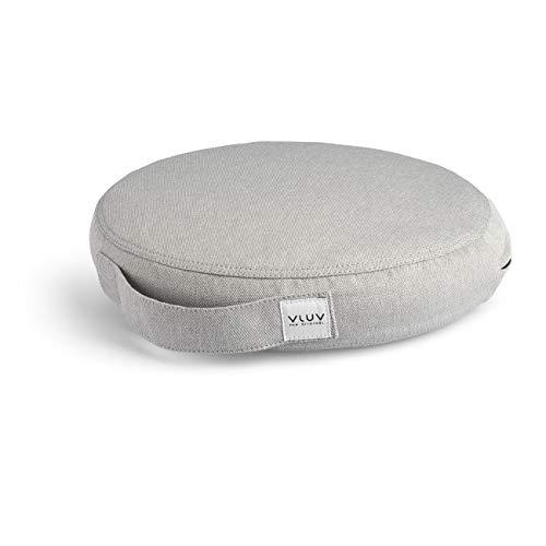 VLUV PIL&PED PIL: LEIV Silver + PED - Cojín de equilibrio (36 cm), color gris