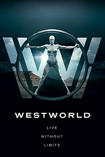 Close Up Westworld Poster Live Without Limits (61cm x 91,5cm) + 2 St. transparente Posterleisten mit Aufhängung