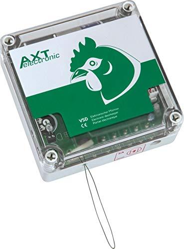 AXT-Electronic VSD – Automatische Hühnerklappe, Elektronischer Pförtner, Hühnertür für den Hühnerstall