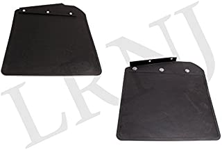 BRITPART Brand for Land Rover Defender 90/110 / 130 Front Mudflap KIT Pair with Brackets Part: RTC9479